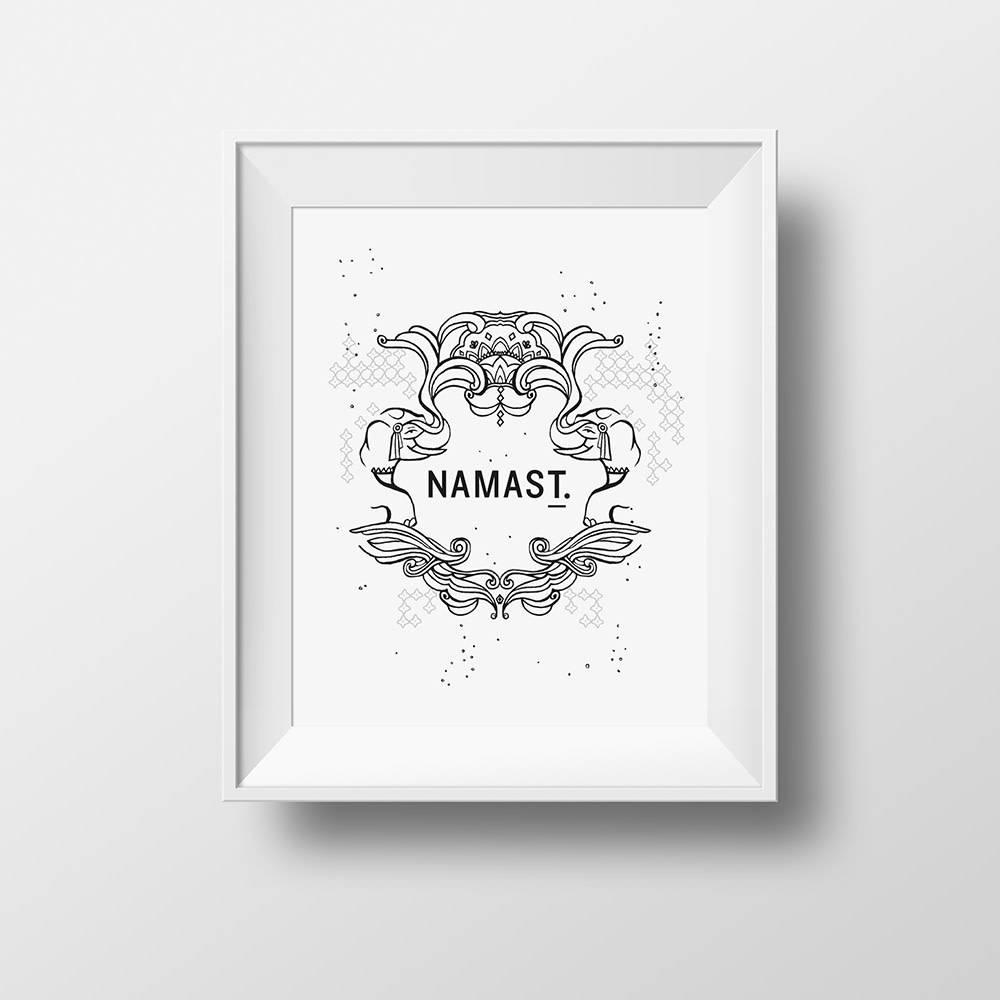 """""""Namas T."""" poster"""