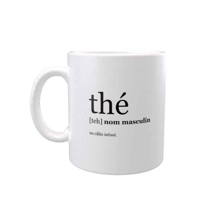 """""""Câlin infusé"""" mug"""