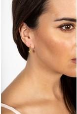 Chan Luu Chan Luu Yellow Gold Star Drop Earring