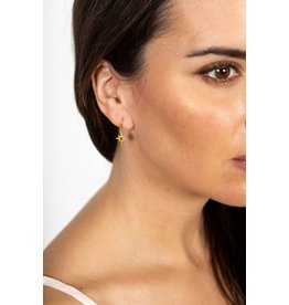 Chan Luu Chan Luu Yellow Gold Star Drop Earring