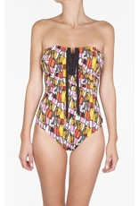 Shan SHAN Picasso Bandeau One Piece