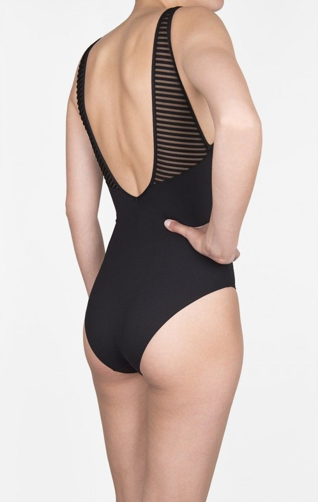 Shan Shan Swimwear Monika Plunge One Piece