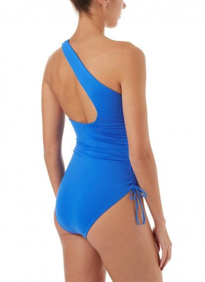 Melissa Odabash Melissa Odabash Polynesia One Shoulder Ruched Swimsuit
