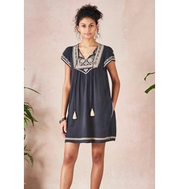 Star Mela Star Mela Lila Embroidered Dress