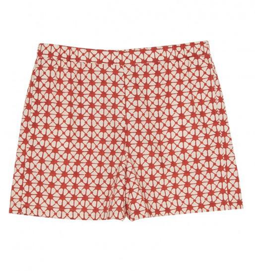 Hartford Hartford batik patterned Simon shorts