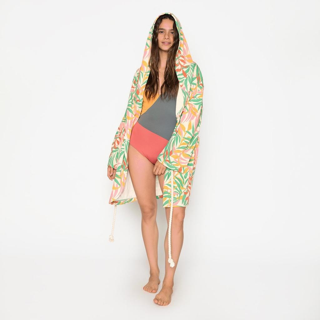Seea Swim Seea Swim Olivia Terry Knit Robe Vida Green