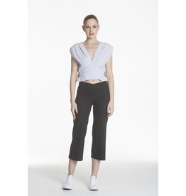 Avenue Montaigne Avenue Montaigne Alex Crop Linen Pant