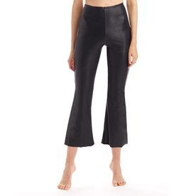 Commando Faux Leather Cropped Flare Pants