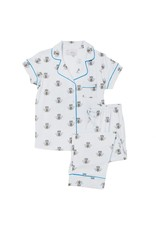 Cat's Pajamas Cat's Pajamas Queen Bee Pima Cotton Knit Capri SET