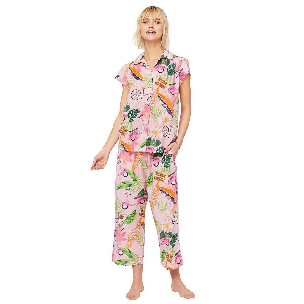 Cat's Pajamas Cat's Pajamas Vespa Luxe Pima Capri PJ SET