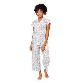 Cat's Pajamas Cat's Pajamas Anchors Away Capri PJ  SET