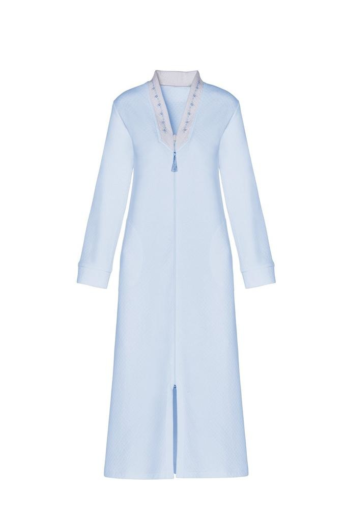 Carmen Glasser Carmen Glasser USA Kelly Front Close Zipper Loung Robe