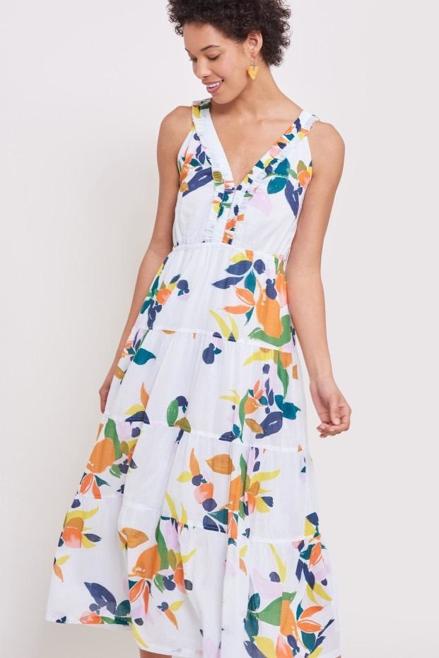 Roberta Roller Rabbit Roller Rabbit Fruit Ibera Dress
