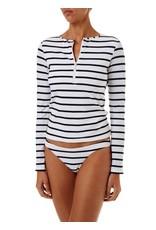 Melissa Odabash Melissa Odabash Cali Marine Long Sleeve Rash Vest and Bottom
