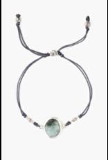 Chan Luu Chan Luu Emerald Semi Precious Stone Adjustable Bracelet
