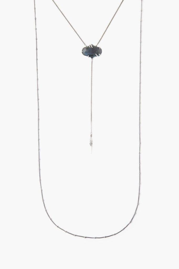 Chan Luu Chan Luu Sterling Silver Labardorite Necklace