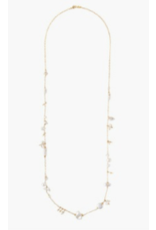 "Chan Luu Chan Luu18K Sterling Silver 36"" Necklace"