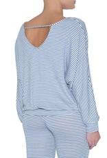 Eberjey Eberjey sadie stripes dolman sleeve top