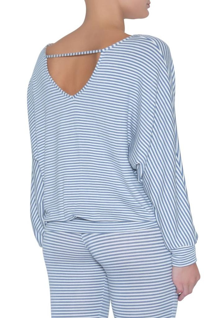 Eberjey Eberjey sadie stripes dolman sleeve top