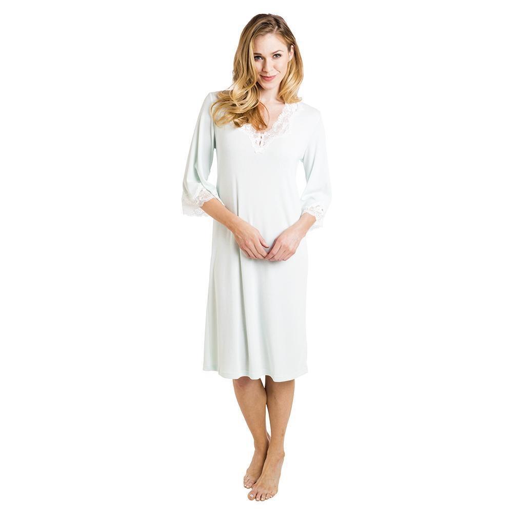 """Softies Softies Melanie Bell Sleeve Nightgown 42"""""""