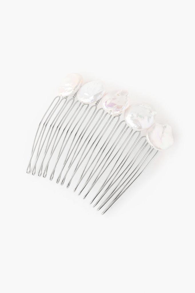 Chan Luu Chan Luu White Pearl Hair Comb