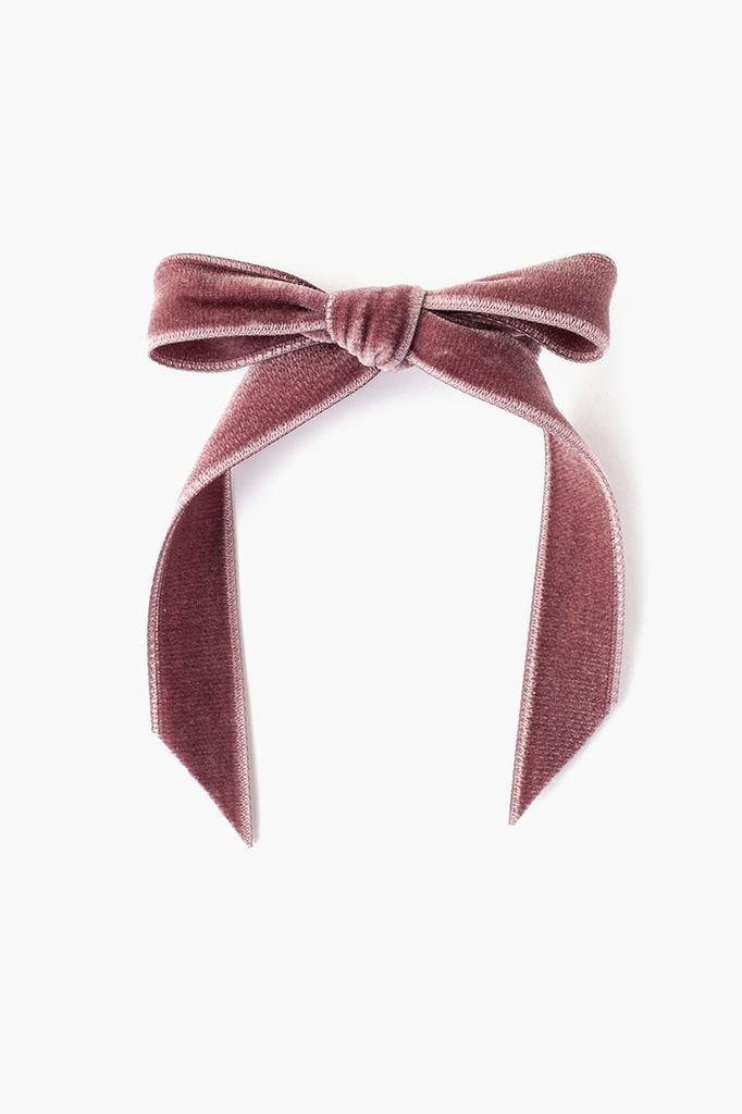 Chan Luu Chan Luu Velvet Bow Hair Clip