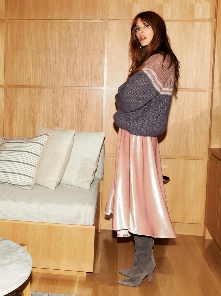 Xirena Xirena Vivien Velvet Skirt