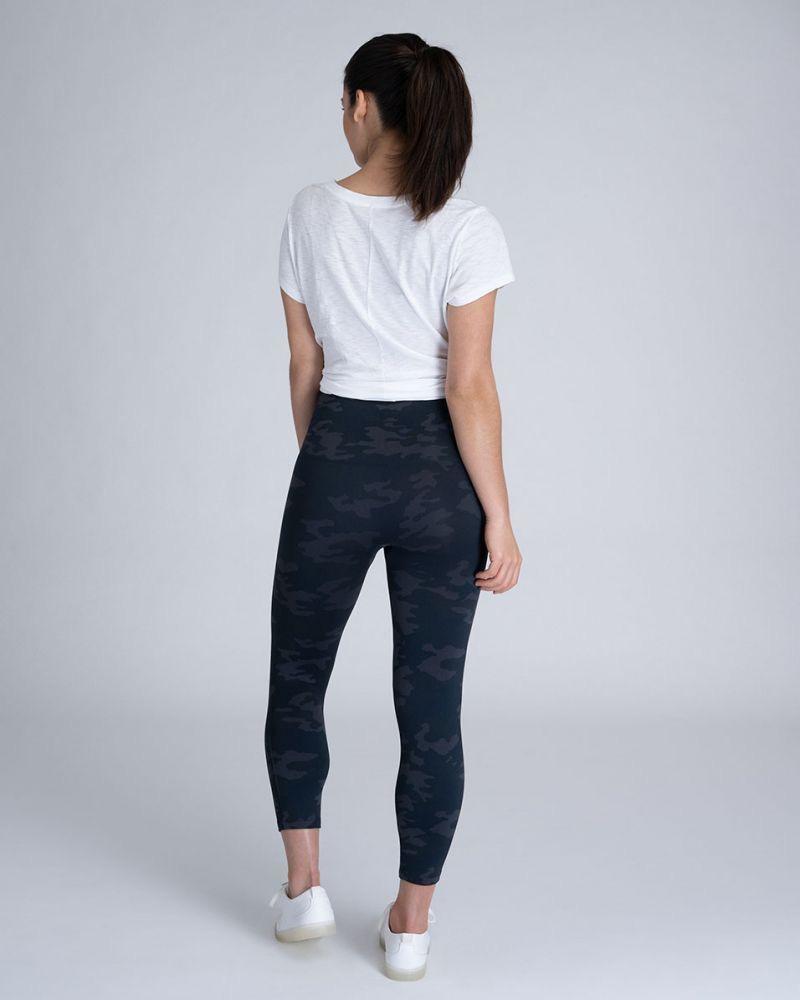 Spanx cropped lamn leggings