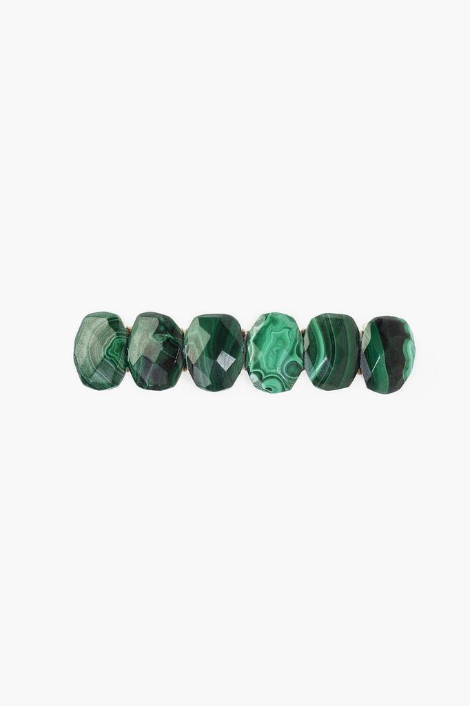 Chan Luu Chan Luu semi precious stones blue malachite hair clip