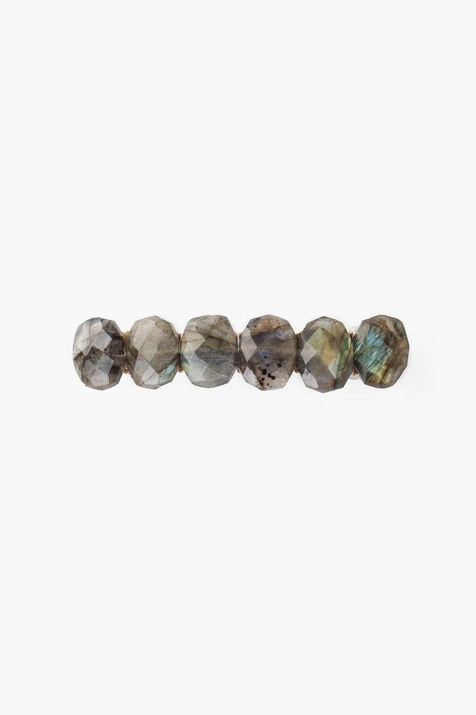 Chan Luu Chan Luu semi precious stones blue labradorite hair clip