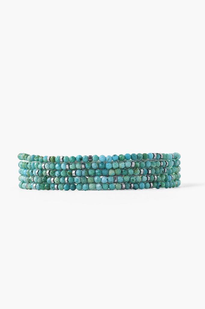 Chan Luu Chan Luu sterling silver turquoise mix bracelet