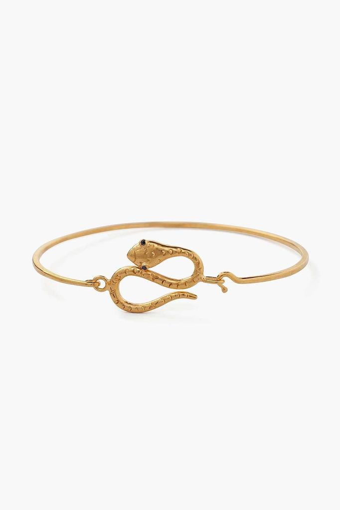 Chan Luu Chan Luu 18K yellow gold plated over sterling silver snake bracelet