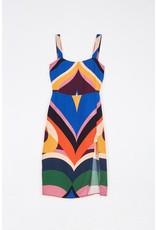 Farm Farm Rio Graphic Heart Slip Dress