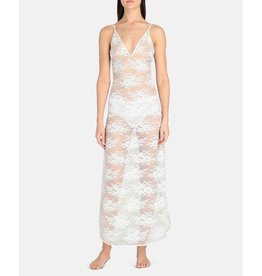 Stella McCartney Stella McCartney Sienna Sparkling Long Lace Gown