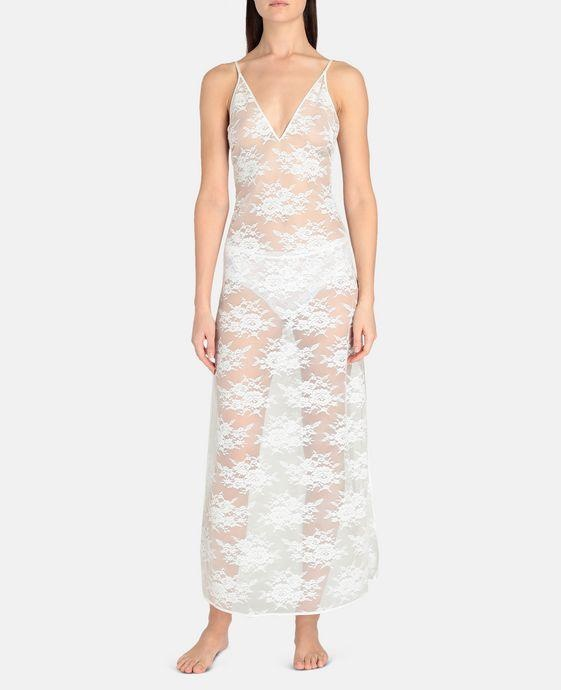 Stella McCartney Stella McCartney Sienna Sparkling Long Lace Gown