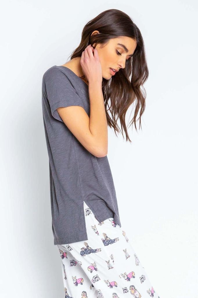 PJ Salvage PLAYFUL PRINTS SHORT SLEEVE TEE