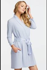 Fleurt Fleurt Short Robe with silk ties