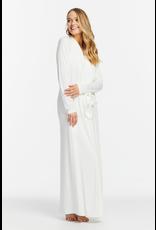 Fleurt Fleurt Long Robe with silk ties