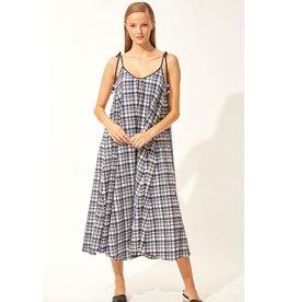 Solid & Stripe Solid & Stripe Puckered Madras Dress
