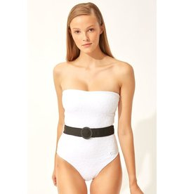 Solid & Stripe Solid & Striped The Madeline Belt one piece swimsuit