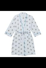 Cat's Pajamas Queen Bee Pima Knit Robe