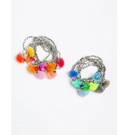 Matta Matta Bapana Tassel Bracelets Silver