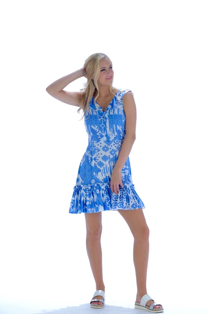 Walker & Wade Walker & Wade Ikat Jessie Dress