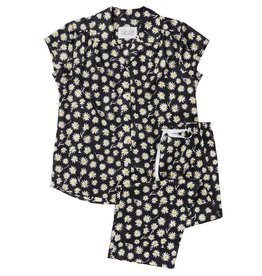 Cat's Pajamas Cat's Pajamas Capri PJ SET Summer Voile Daisy Daze