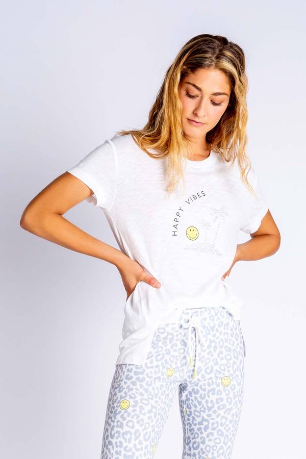 PJ Salvage PJ Salvage smiley short sleeve tee