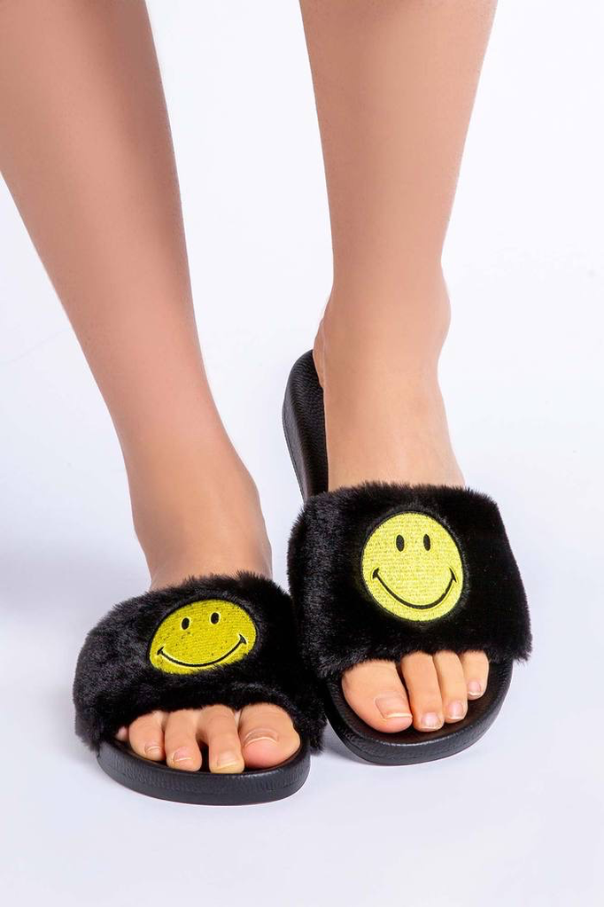PJ Salvage PJ Salvage smiley slippers
