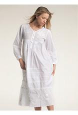 Mahogany Mahogany 100% Cotton Larissa Long Sleeve Gown