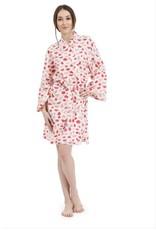 Mahogany Mahogany 100% Cotton Short Robe, Watermelon Print