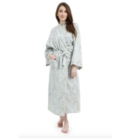 Mahogany Mahogany 100% Cotton Long Robe Samira Print