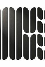 Ens. bandes réflecteurs cadre Flectr noir